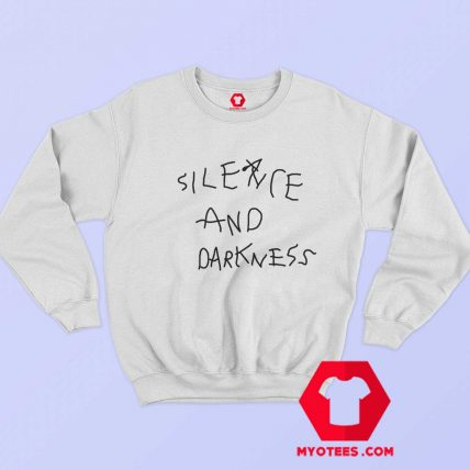 Cool Silence And Darkness Graphic Sweatshirt
