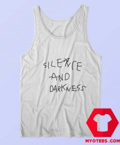 Cool Silence And Darkness Graphic Tank Top