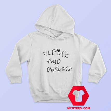 Cool Silence And Darkness Graphic Unisex Hoodie