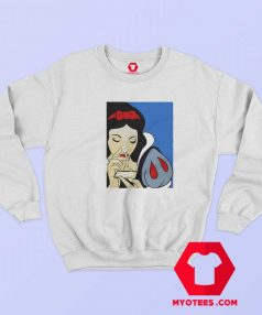 Disney Princess Snow White Cocain Unisex Sweatshirt