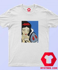 Disney Princess Snow White Cocain Unisex T Shirt