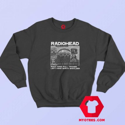 Everything In Its Right Place Radiohead Sweatshirt