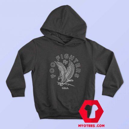 Foo Fighters Linear Eagle Sketch Unisex Hoodie