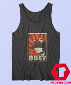 Frog Obey The Hypnotoad Unisex Tank Top
