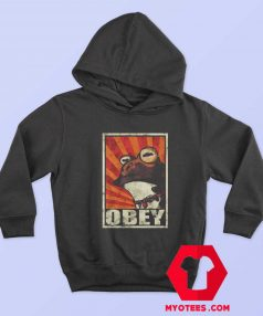 Frog Obey the hypnotoad Unisex Hoodie