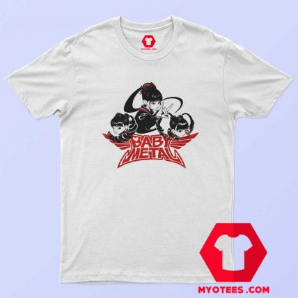 Funny Parody Babymetal Karate Band T Shirt