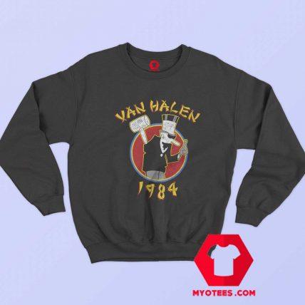 Funny Van Halen 1984 Tour Band Sweatshirt
