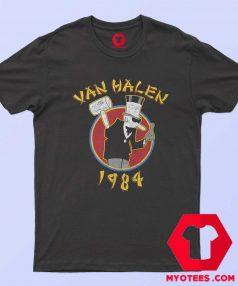 Funny Van Halen 1984 Tour Band Unisex T Shirt