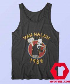 Funny Van Halen 1984 Tour Band Unisex Tank Top