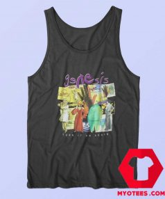 Genesis Album Collage Turn It On Again Tour Tank Top