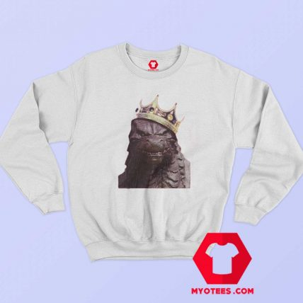 Godzilla King Of Monsters Hip Hop Parody Sweatshirt