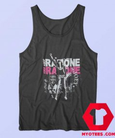 Joey Ramone Fist Black Ramones Unisex Tank Top