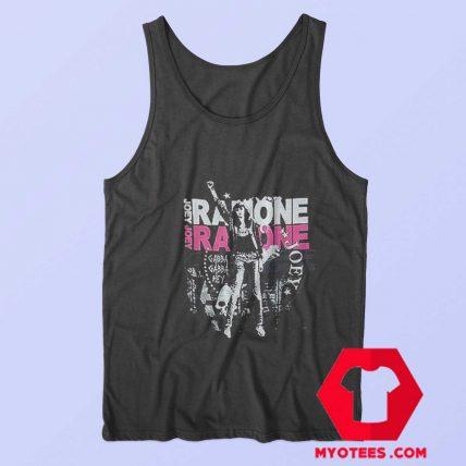 Joey Ramone Fist Black Ramones Unisex Tank Top