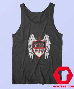 Knights Templar Hospitallers Crusaders Tank Top