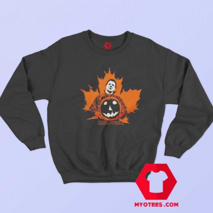 Michael Myers Halloween Pumpkin Unisex Sweatshirt