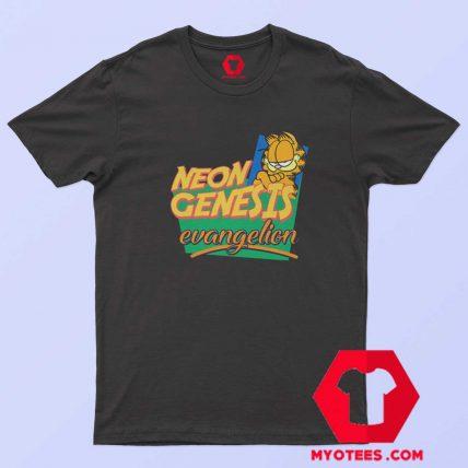 Neon Genesis Evangelion Garfield Memes T Shirt