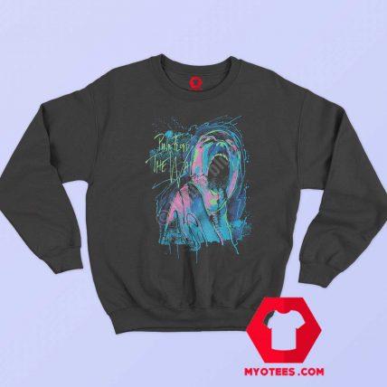 Pink Floyd The Wall Neon Blacklight Glows Sweatshirt