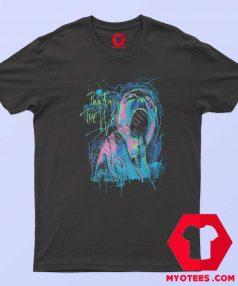 Pink Floyd The Wall Neon Blacklight Glows T Shirt