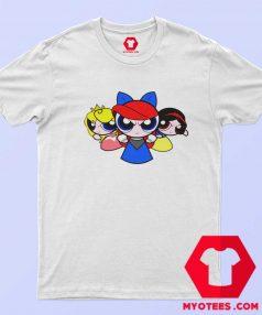 Princess Powerpuff Fairy Cartoon Parody T Shirt