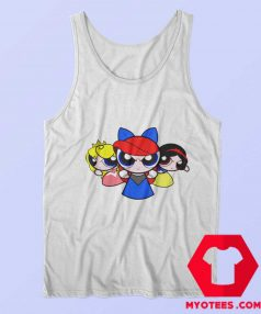 Princess Powerpuff Fairy Cartoon Parody Tank Top