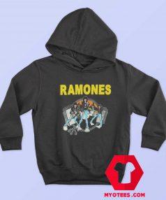 Ramones Cartoon Road To Ruin Album Hoodie