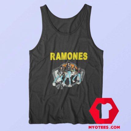 Ramones Cartoon Road To Ruin Album Tank Top
