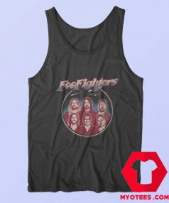 Retro Foo Fighters Classic Portrait Unisex Tank Top