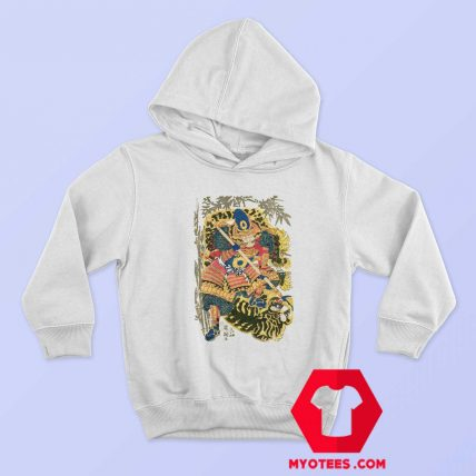 Retro Maglietta Arti Marziali Samurai Japan Hoodie