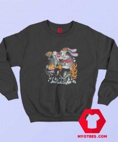 Roger Fink Funny Cartoon Graphic Unisex Sweatshirt