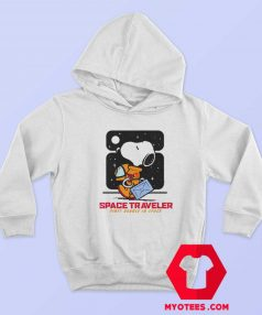 Snoopy Peanuts Space Traveler Unisex Hoodie