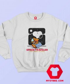 Snoopy Peanuts Space Traveler Unisex Sweatshirt