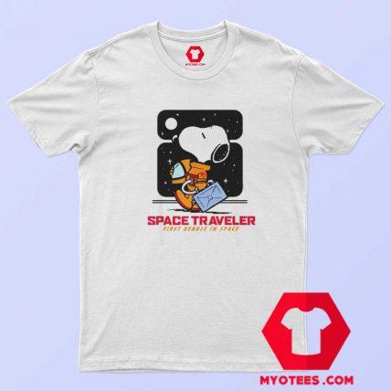 Snoopy Peanuts Space Traveler Unisex T Shirt