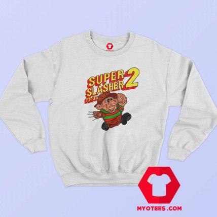 Super Mario Bros Freddy Krueger Parody Sweatshirt