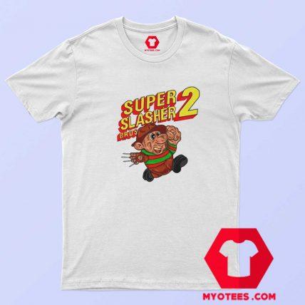 Super Mario Bros Freddy Krueger Parody T Shirt