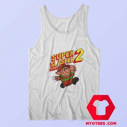 Super Mario Bros Freddy Krueger Parody Tank Top