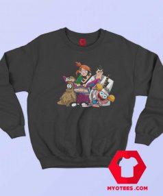 TV Cartoon Vintage Retro Graphic Unisex Sweatshirt