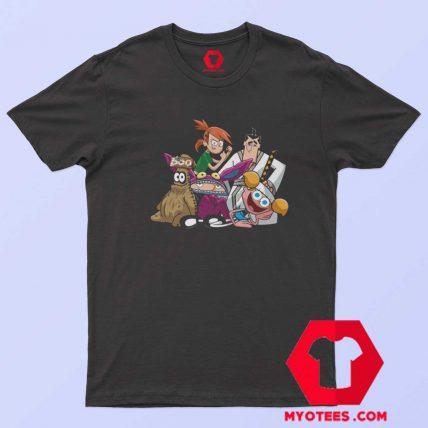 TV Cartoon Vintage Retro Graphic Unisex T Shirt