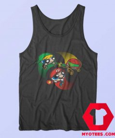 The Powerpuff Superhero Cartoon Parody Tank Top