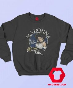 Vintage Cover Madonna Like Virgin Unisex Sweatshirt