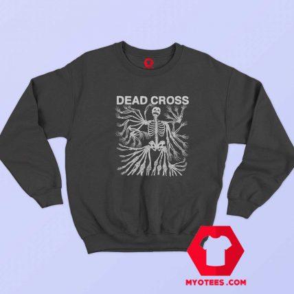 Vintage Dead Cross Heavy Metal Logo Sweatshirt