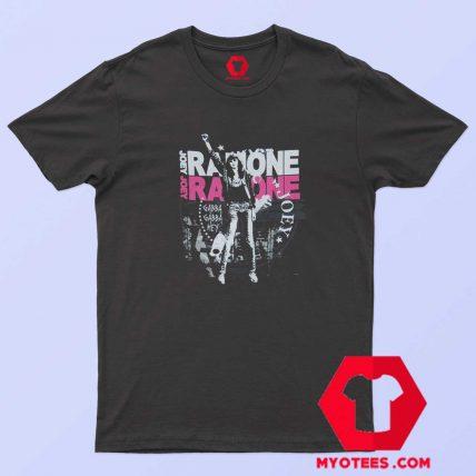 Vintage Joey Ramone Fist Black Band Unisex T Shirt