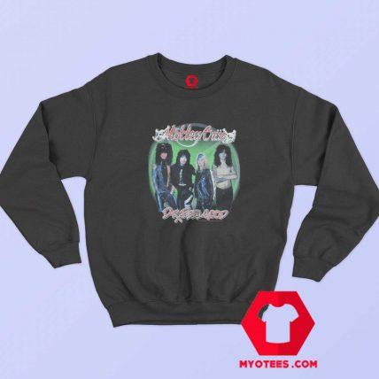 Vintage Motley Crue Green Circle Official Sweatshirt