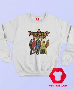 Vintage Retro A Different World Unisex Sweatshirt