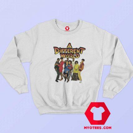 Vintage Retro A Different World Unisex Sweatshirt