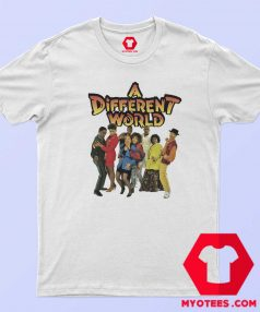 Vintage Retro A Different World Unisex T Shirt