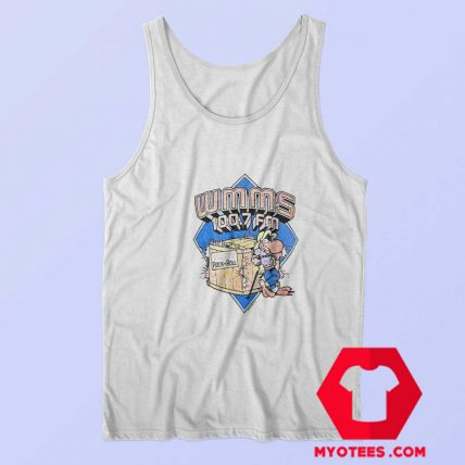 Vintage WMMS Rock and Roll 100.7 FM Tank Top