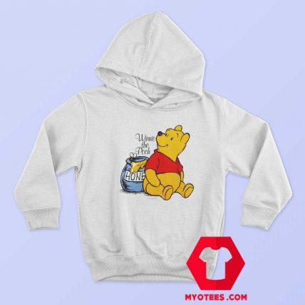 Vintage Winnie The Pooh Disney Cartoon Hoodie