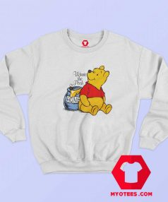 Vintage Winnie The Pooh Disney Cartoon Sweatshirt