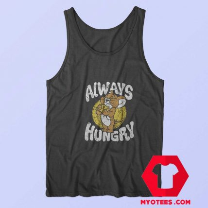 Always Hungry Vintage Tom Jerry Unisex Tank Top
