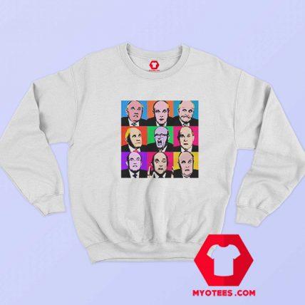Andy Warhol Marilyn Monroe Parody Sweatshirt